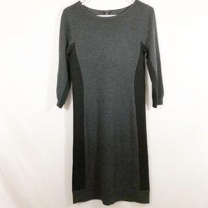 ANN TAYLOR SWEATER DRESS - SZ S